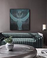 "Obrazy - Obraz ""Modrý totem"" - 11490928_"