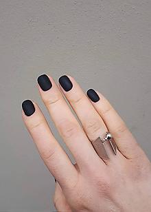 Prstene - Stylový stříbrný prsten Helen - 11489984_