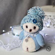 Hračky - Modrý Pinguin - 11490966_