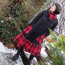 Šaty - Elegantná kocka...L-XXL - 11494159_