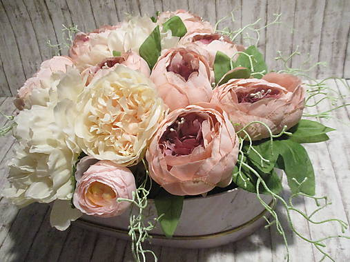 Romantický Flower box