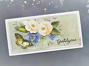 Papiernictvo - Svadobná pohľadnica - 11492365_