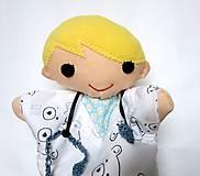 Hračky - Maňuška pán doktor - zverolekár - 11494474_