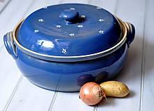 Nádoby - Pekáč modrý, veľký - 11491812_