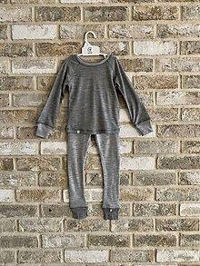 Detské oblečenie - Merino set (100% merino) - 11494726_
