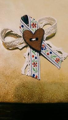 Pierka - Folklórne svadobné pierko - 11493570_