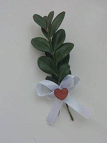Pierka - Svadobné pierko s krušpánom - 11493768_