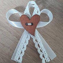 Pierka - Biele svadobné pierko - 11493907_