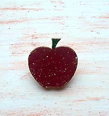 Odznaky/Brošne - brošňa jabĺčko - 11491331_