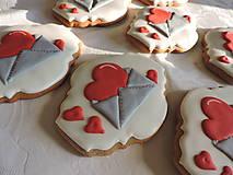 Dekorácie - Medovníková Valentínska pošta - 11495370_