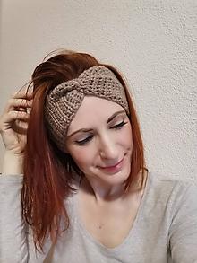 Ozdoby do vlasov - Merino čelenka - 11494924_