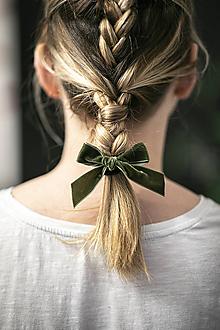 Ozdoby do vlasov - Gumičky Velvetky - 11496182_