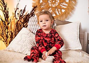 Detské oblečenie - pyžamko malina - 11498347_