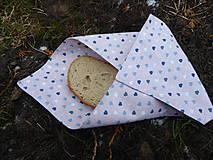 Úžitkový textil - béžový desiatový obrúsok - 11496372_