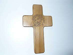 Iné doplnky - Drevený kríž - 11495784_