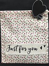 Úžitkový textil - vrecúško samé ♥ ♥ - 11496158_