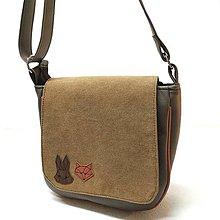"""Taštičky - Unisex taška """"Líška a zajac"""" - 11497446_"""