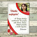 Papiernictvo - Kvetová pohľadnica s fotografiou - 11496965_