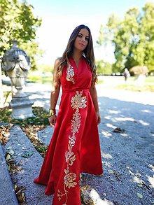 Šaty - Sale! Červené šaty z 250 eur na 188 - 11499642_