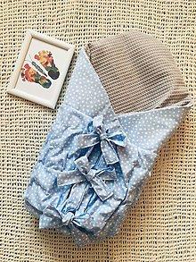 Textil - 2 v 1 Obojstranná zavinovačka a podložka - 11499262_