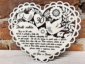 Dekorácie - Výročie svadby 40 - 11501218_