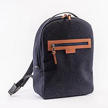 Batohy - Backpack Wool Blue - 11501507_