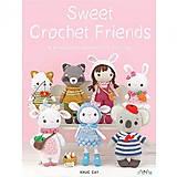 Návody a literatúra - Kniha - Sweet crochet friends - 11500473_