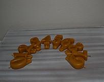 Svietidlá a sviečky - Sviečky na tortu z včelieho vosku - 11499443_