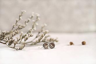 Náušnice - Mini Hory v lôžku - 11500031_