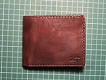 Tašky - AKCIA! Pánska kožená peňaženka - jediný kus - 11501245_