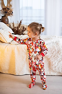 Detské oblečenie - pyžamko cukrík - 11499219_