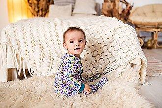 Detské oblečenie - pyžamko marshmallow - 11501882_