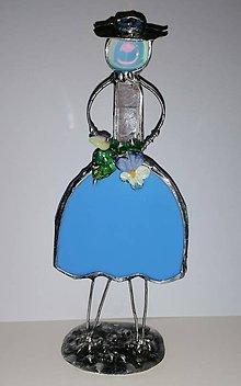 Socha - Dáma v modrom - 11501611_