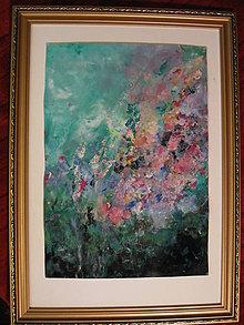 Obrazy - Kvetinová impresia - 11500952_