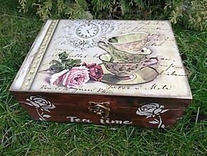Krabičky - čaj o piatej - 11499018_