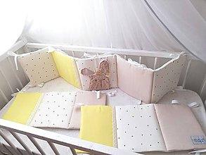 Textil - Mantinel PURE žltý 240x30cm - 11504944_