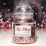 Nezaradené - Be Mine - ručne odlievaná sójová sviečka (Valentínska limitovaná edícia) - 11503255_