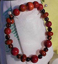 Náramky - Červený jaspis - 11505334_