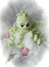 Hračky - Zvedavá chobotnička - 11503455_