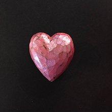 Odznaky/Brošne - Ružová brošňa - 11502463_