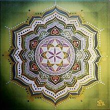 Obrazy - Mandala zdravia, lásky a empatie - 11504808_