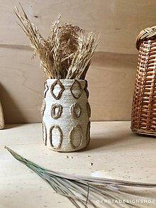 """Dekorácie - Antica"""" recyklovaná váza - 11503803_"""