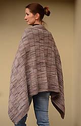 Úžitkový textil - pončoDEKA - ZĽAVNENÉ, 100% merino - 11503776_