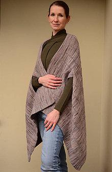 Úžitkový textil - pončoDEKA, 100% merino - 11503775_