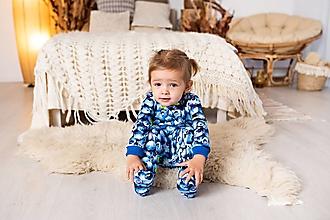 Detské oblečenie - pyžamko čučoriedka - 11504226_