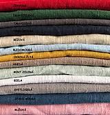 Úžitkový textil - Ľanová obliečka na vankúš - 11503444_