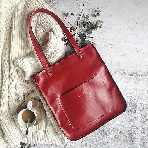 Kabelky - Vera style (červená) - 11506285_