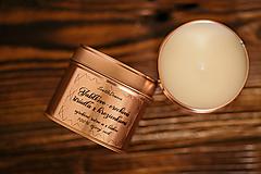 Svietidlá a sviečky - Sójová sviečka v plechovke - RoseGold - Jablkovo-orechová štrúdľa s hrozienkami - 11505860_