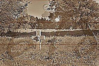 Dekorácie - foto na dreve_Hope_Nádej (Hnedá) - 11505811_