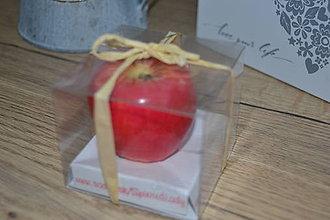 Svietidlá a sviečky - Červené jabĺčko - 11506275_